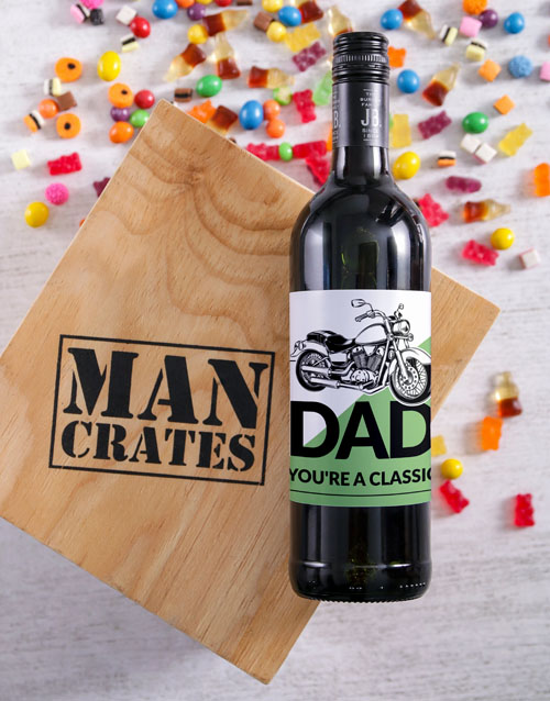 fathers-day: Classic Dad Man Crate!