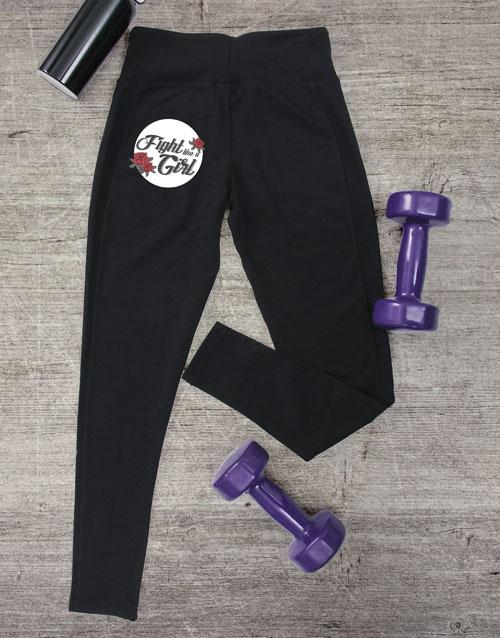 activewear: Fight Like A Girl Leggings!