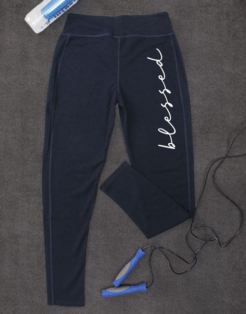 activewear: Blessed Leggings!