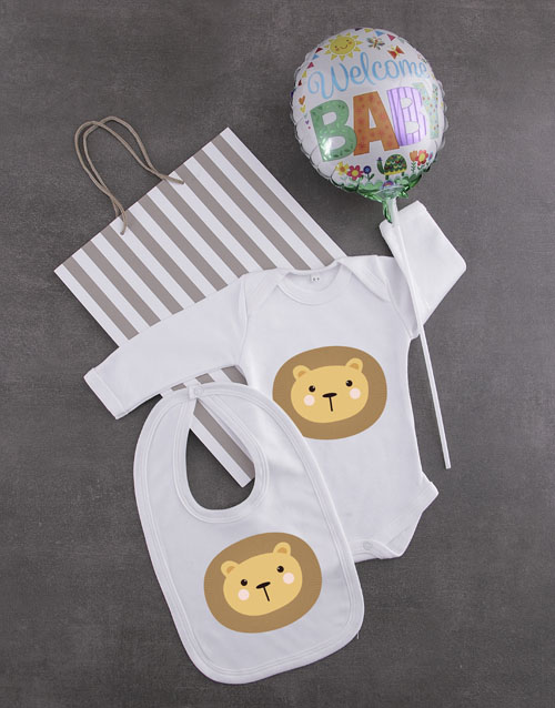 baby: Little Lion Gift Set!