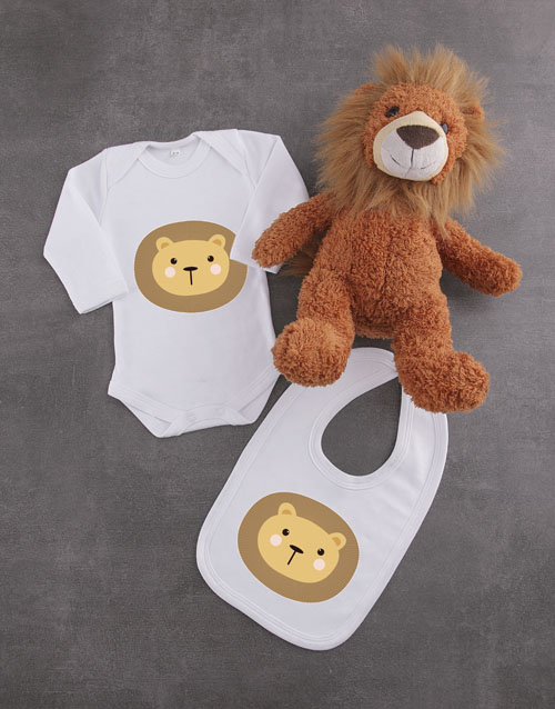 baby: Baby Lion Gift Set!