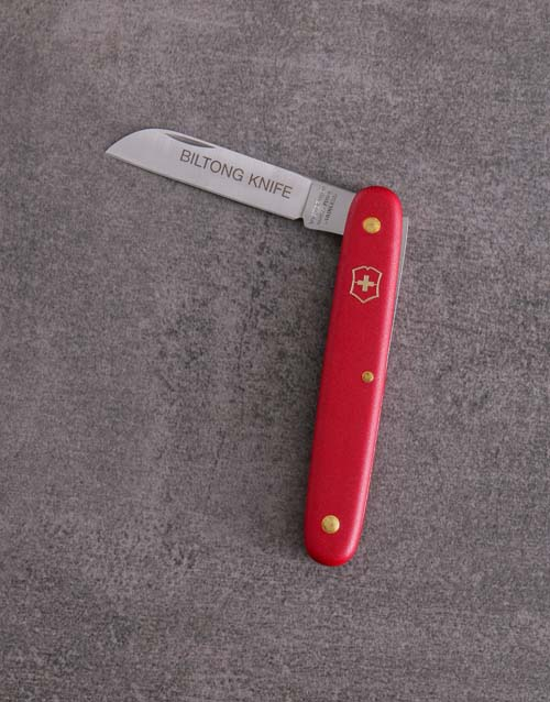 bosses-day: Red Victorinox Biltong Knife!