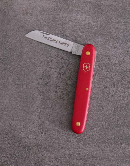gourmet: Red Victorinox Biltong Knife!