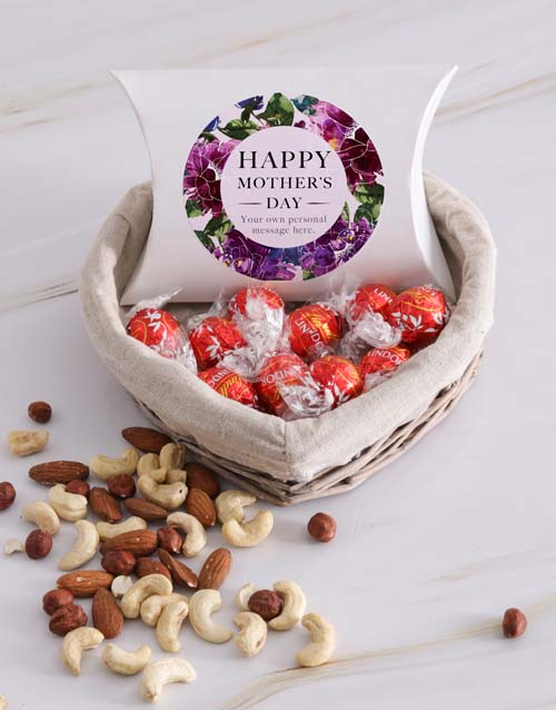 mothers-day: Personalised Mothers Day Choc and Nut Basket!