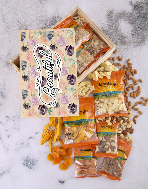 gourmet: Mommy Fruit And Nut Crate!