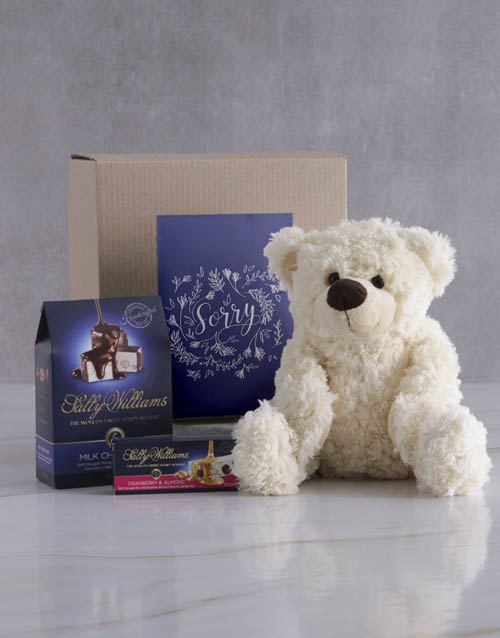 mothers-day: Sweet Sorry Teddy and Nougat Gift!