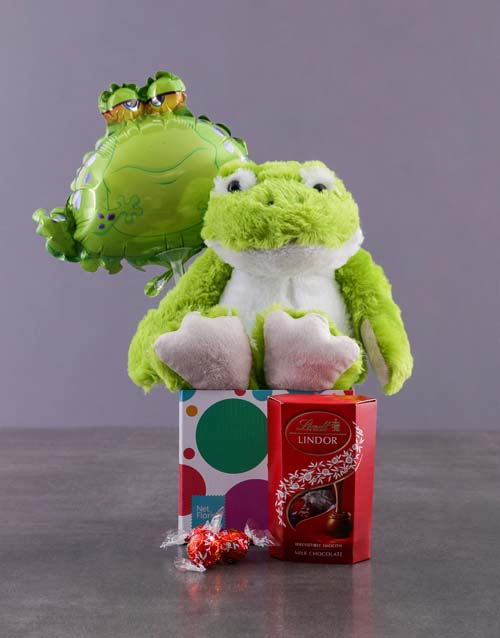get-well: Lindt Froggy Variety Hamper!