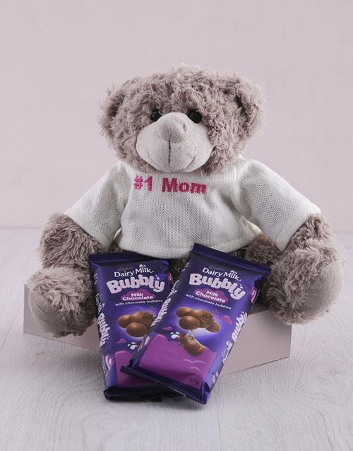 teddy-bears: Bubbly Hamper For Mom!
