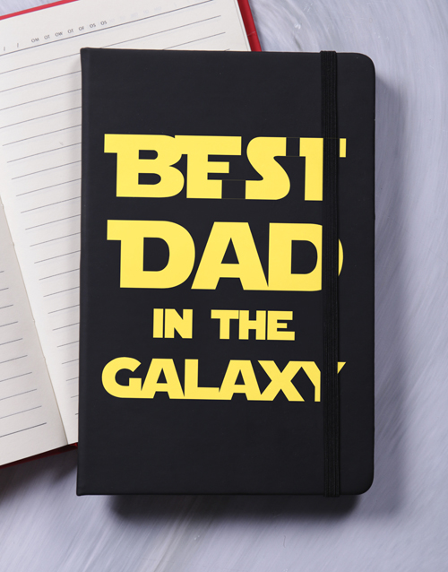 fathers-day: Best Dad In The Galaxy A5 Notebook!