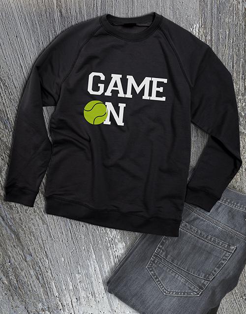 clothing: Game On Tennis Ladies Sweatshirt!