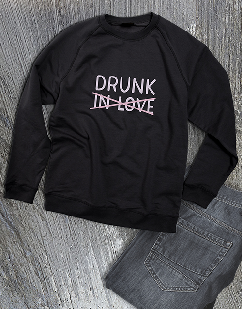 clothing: Drunk In Love Ladies Sweatshirt!