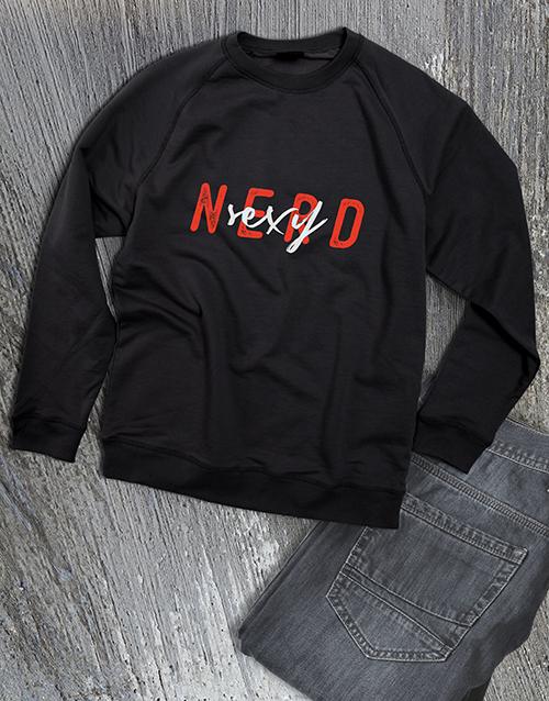 clothing: Sexy Nerd Sweatshirt!