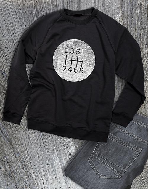 clothing: Graphic Gears Sweatshirt!