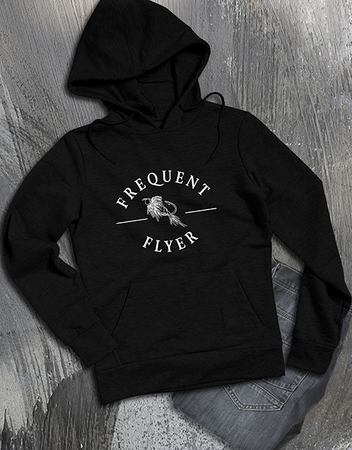 clothing: Frequent Flyer Hoodie!