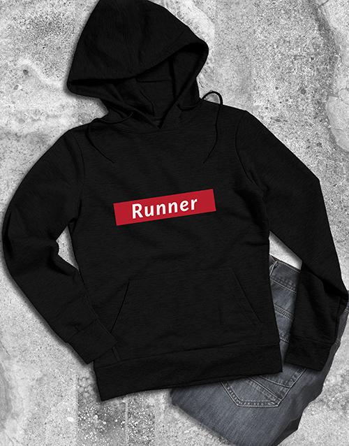 clothing: Modern Runner Hoodie!