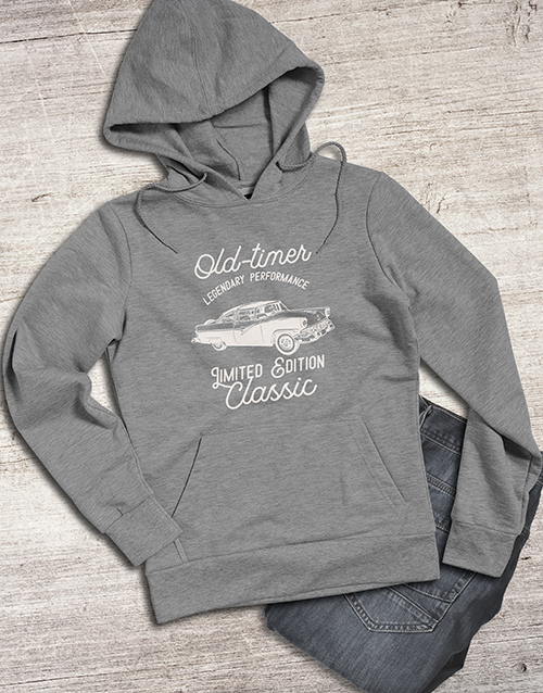 clothing: Retro Old Timer Hoodie!