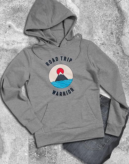 clothing: Road Trip Warrior Hoodie!