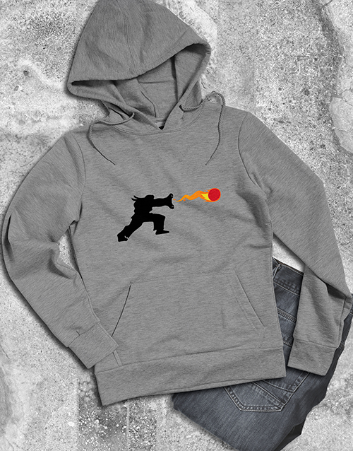 clothing: Retro Arcade Fighter Hoodie!