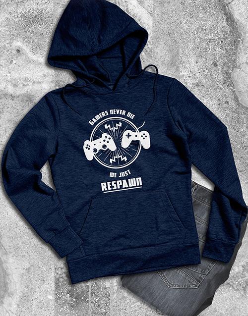 clothing: Gamers Respawn Hoodie!