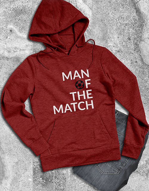 winter: Man Of The Match Hoodie!