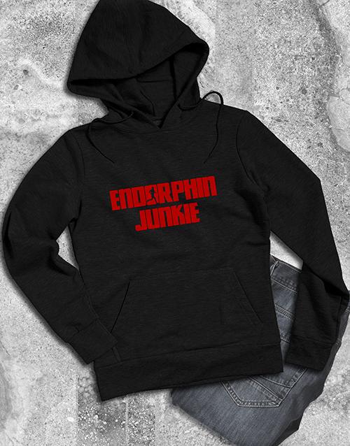 clothing: Endorphin Junkie Hoodie!
