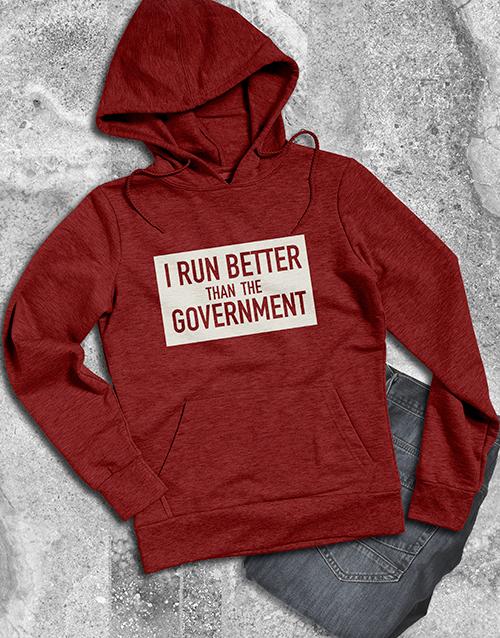 clothing: Run Better Hoodie!