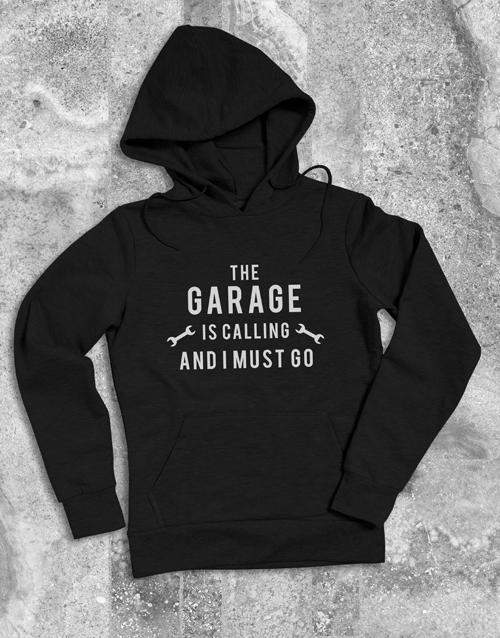 clothing: Garage Is Calling Hoodie!