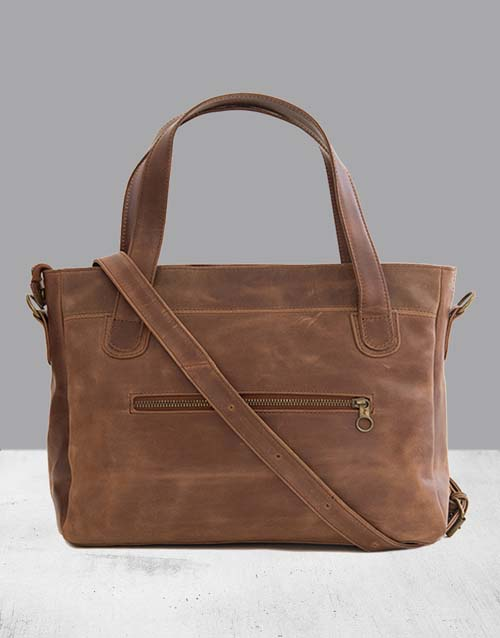 mothers-day: Zemp Venice Waxy Tan Tote!