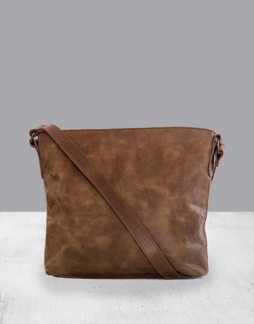 apparel: Zemp Orlando Waxy Tan Bag!