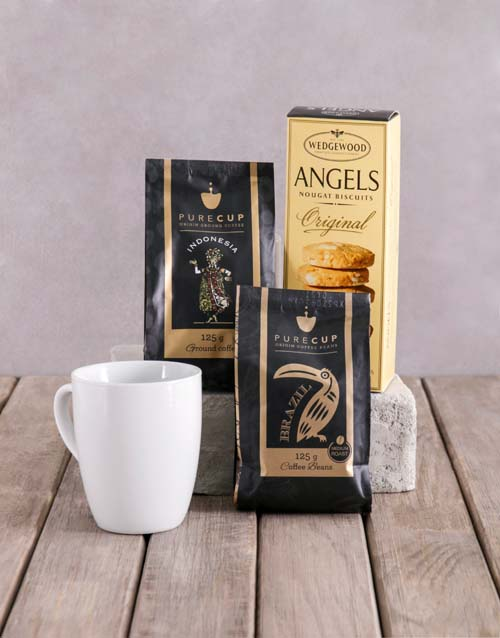 mothers-day: Coffee and Wedgewood Hamper!