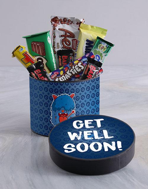 get-well: Get Well Monster Chocolate Box!