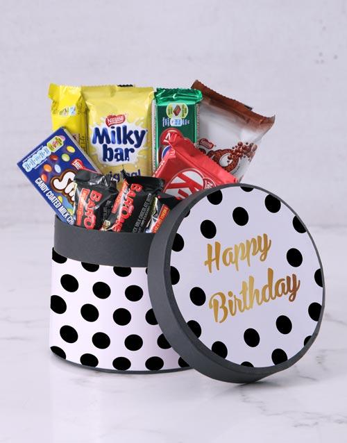 birthday: Polka Dot Birthday Hat Box!