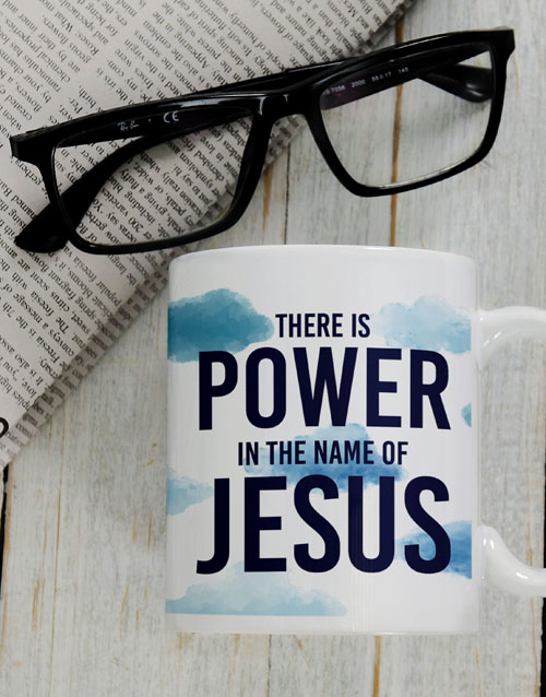 easter: Power In His Name Mug Gift!