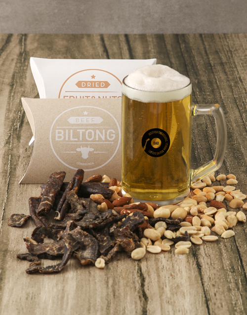 fathers-day: For The Record Gourmet Food And Beer Glass Gift!