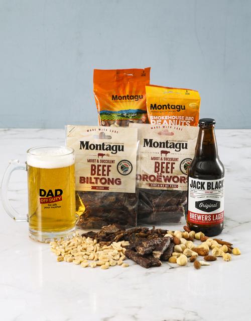 gourmet: Off Duty Gourmet Food Beer Glass Gift!