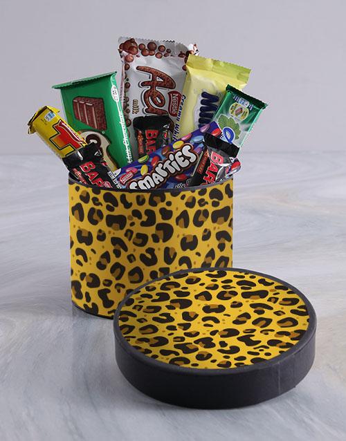 chocolate: Cheetah Chocolate Box!