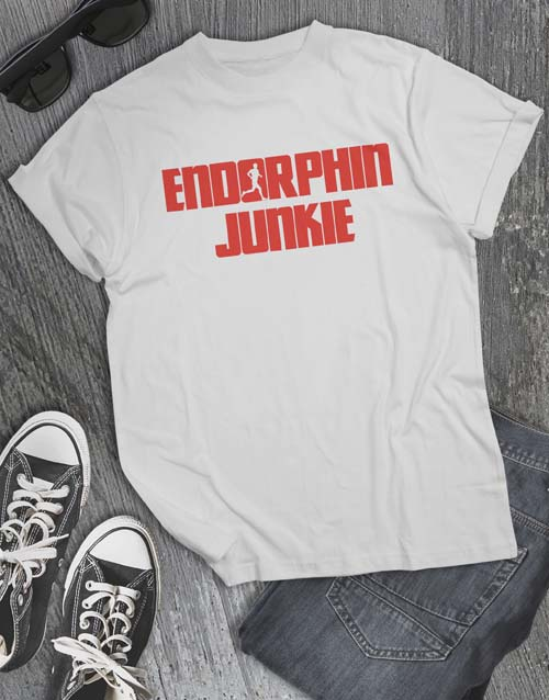 clothing: Endorphin Junkie T Shirt!