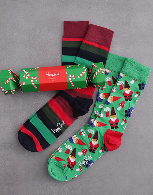 apparel: Happy Socks Candy Cane Festive Cracker!