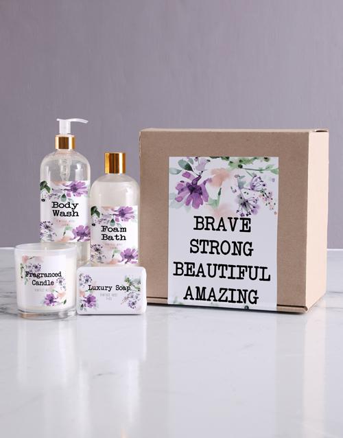bath-and-body: Brave Bath Kraft Gift Set!