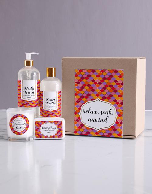 birthday: Relax Bath Kraft Gift Set!