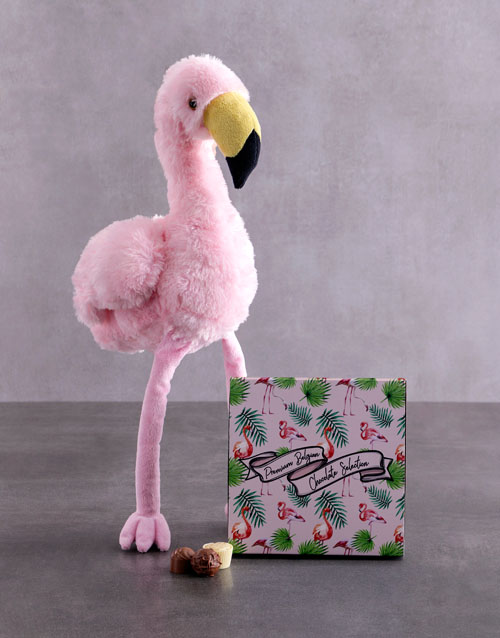 mothers-day: Flamingo And Choc Tray!