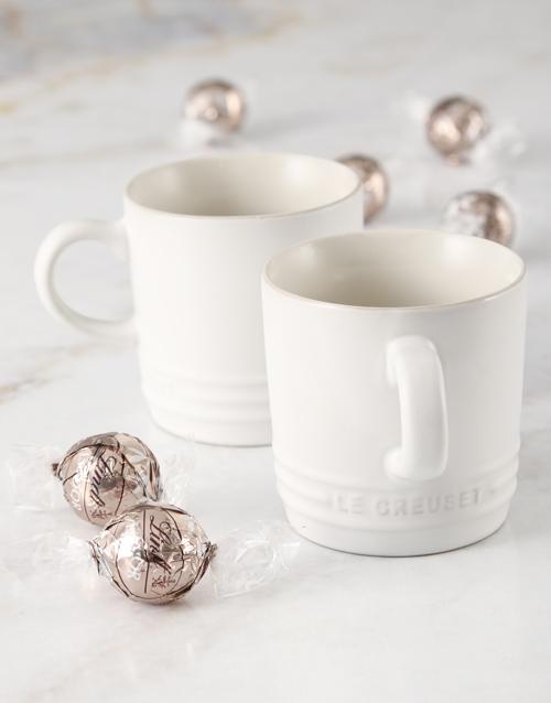 bosses-day: Le Creuset Cotton Cappuccino Mug Hamper!