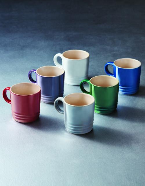 rosh-hashanah: Le Creuset Metallic Mugs Gift Set!