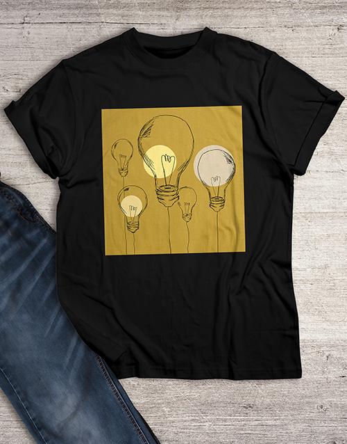 clothing: Lightbulbs T Shirt!