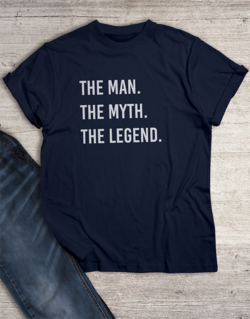 bosses-day: The Man The Legend T Shirt!