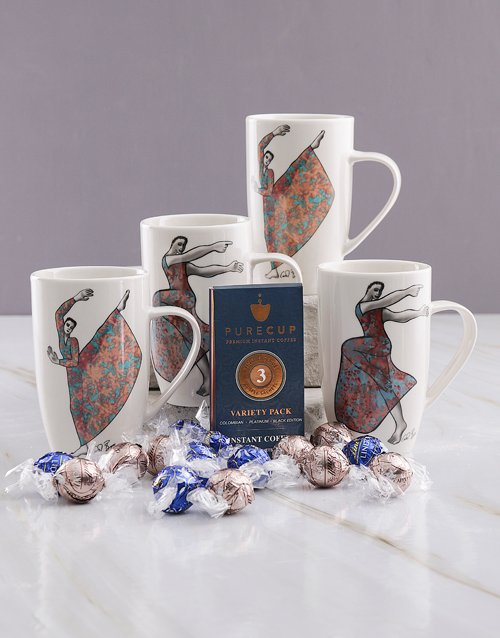 mothers-day: Carrol Boyes Flowing And Uplifting Mug Hamper!
