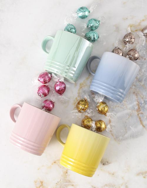 easter: Le Creuset Pastels Mug Hamper !