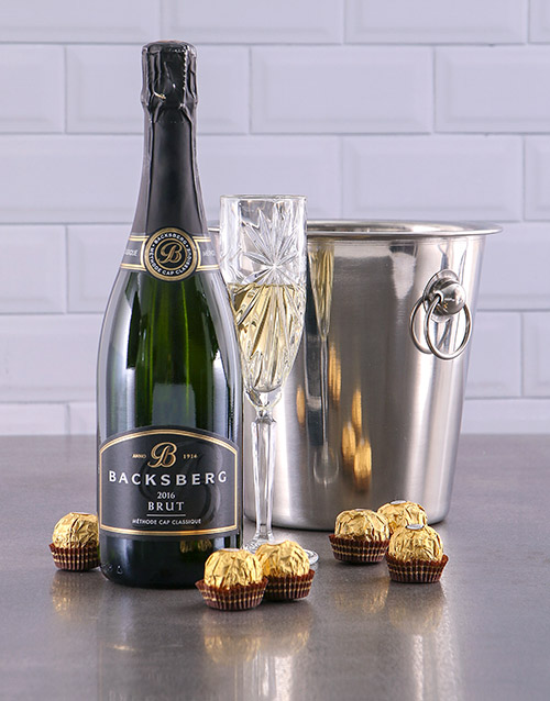 christmas: Backsberg Brut Ice Bucket Gift!