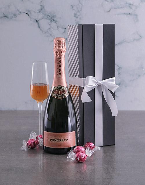 year-end: Pongracz Rose Bold Stripe Giftbox!