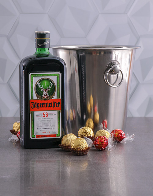 fine-alcohol: Jagermeister Ice Bucket Gift!